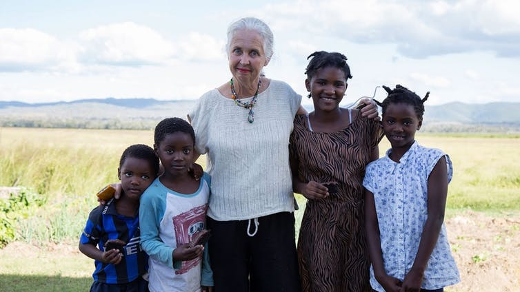 Mingoola resident Julia Harpham has led the way in welcoming African migrant families to revitalise the tiny NSW township. | Regennovate/YouTube