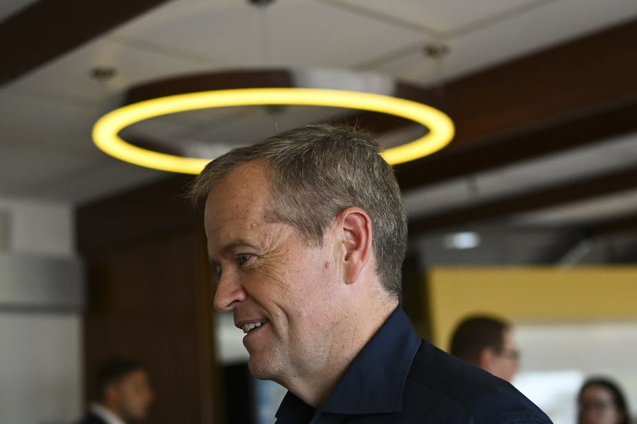 Shorten will campaign on the theme of wages this week. Lukas Coch/AAP