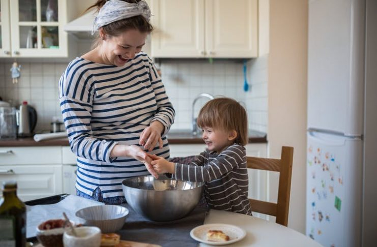 Take care to ensure fibre intakes aren't excessive during pregnancy and infancy. Natalia Lebedinskaia/Shutterstock