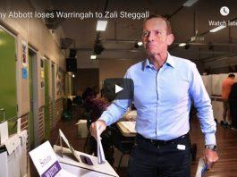 Tony Abbott loses election