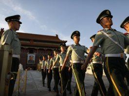China on Tiananmen