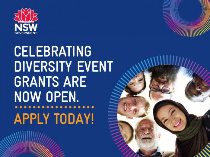 Apply today for funding for multicultural festivals and events:https://multiculturalnsw.smartygrants.com.au/1920round1events