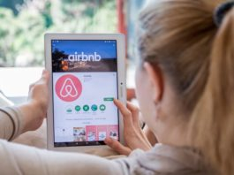 Renting out via airbnb