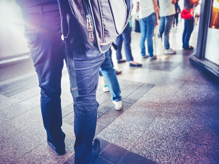 Think of the ranking system like a queue. The closer you are to the front of the queue, the more likely you are to get a university spot. Image: shutterstock.com