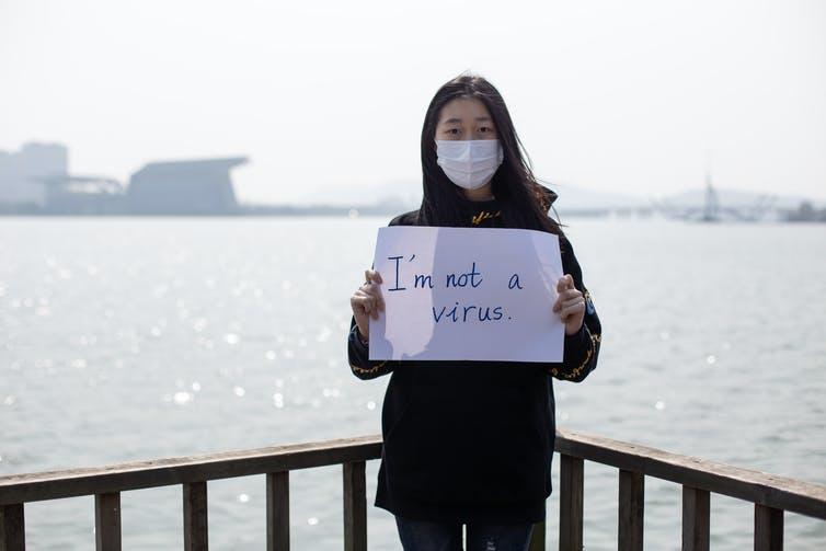 I'm not a virus | Photo: Shutterstock