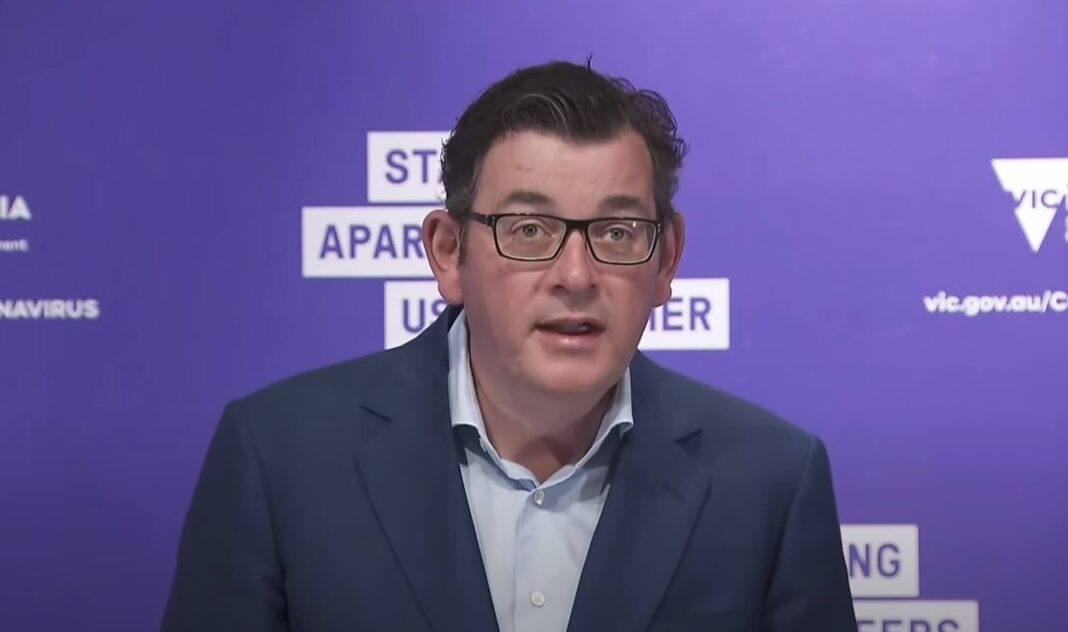 Premier Daniel Andrews 28 | Screenshot from ABC News Youtube Channel