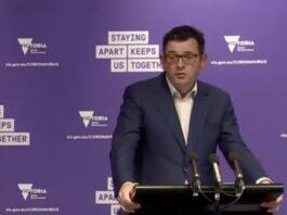 Victorian Premier Daniel Andrews 06 Sept 2020