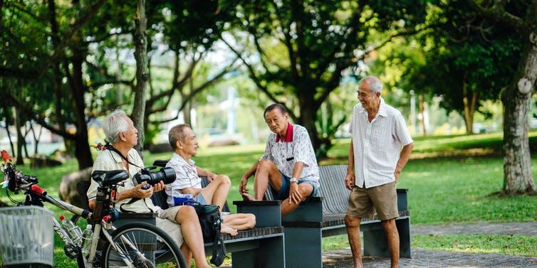 Asian elderly Photo Shutterstock