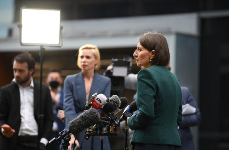 NSW Premier Gladys Berejiklian | Photo Dean Lewins:AAP