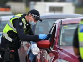 Police inspection | James Ross/AAP