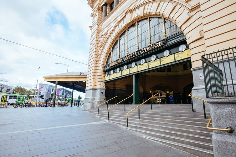 Melbourne Flinders Train Station | Photo: Shutterstock