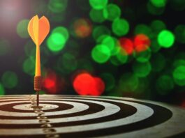The odds of hitting your target goals is improved by building 'goal infrastructure'. | Photo from Shutterstock