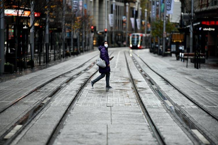 Street crossing   Courtesy: Joel Carrett/AAP