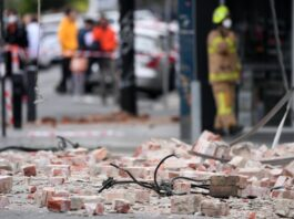 Earthquake in Melbourne   James Ross/AAP