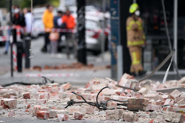 Earthquake in Melbourne | James Ross/AAP